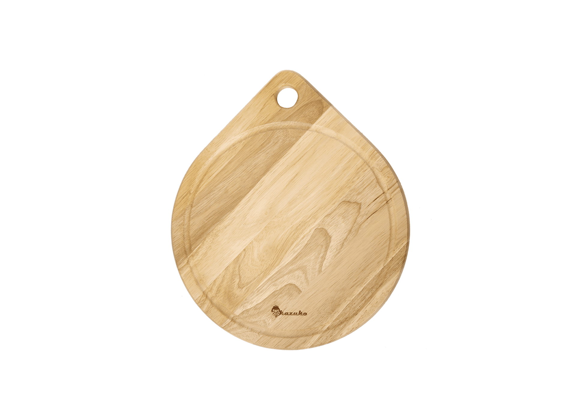 Round cutting board with hanging hole