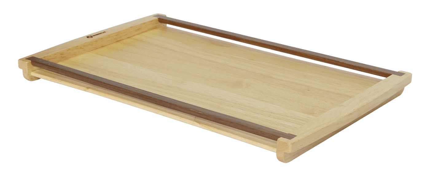 Rectangular serving  Tray with handle